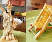 Tata pravi skulpture od tosta za svoju kćer sa teškom alergijom na hranu