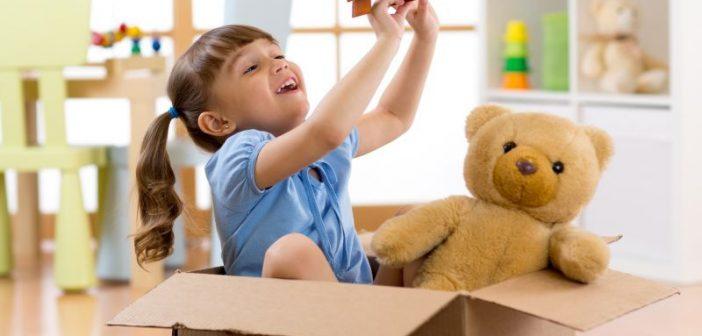 Kartonska kutija bolja je za razvoj djeteta nego bilo koja druga igračka
